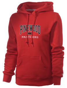 Pinewood Elementary School Panthers Russell Women's Pro Cotton Fleece Hooded Sweatshirt