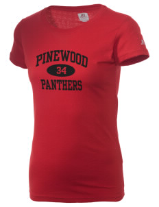 Pinewood Elementary School Panthers  Russell Women's Campus T-Shirt
