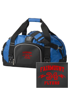 Fairmount Elementary School Flyers  Embroidered OGIO Big Dome Duffel Bag