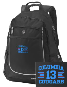 Columbia Elementary School Cougars Embroidered OGIO Carbon Backpack
