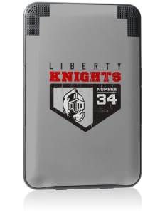 Liberty Elementary School Knights Kindle Keyboard 3G Skin