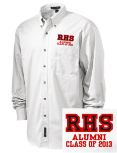 Riverside High School Rams Embroidered Tall Men's Twill Shirt