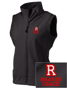 Rochester Middle School Braves  Embroidered Women's Glacier Soft Shell Vest