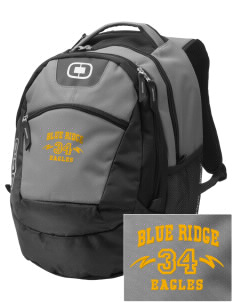 Blue Ridge Elementary School Eagles Embroidered OGIO Rogue Backpack