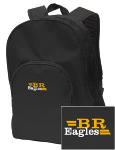 Blue Ridge Elementary School Eagles Embroidered Value Backpack