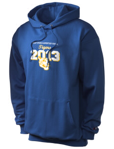 Shady Spring Elementary School Tigers Champion Men's Hooded Sweatshirt