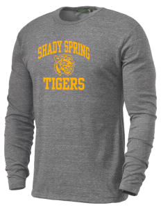 Shady Spring Elementary School Tigers Alternative Men's 4.4 oz. Long-Sleeve T-Shirt