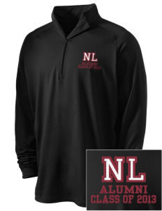 North Linn Elementary School Lynx Embroidered Men's Stretched Half Zip Pullover