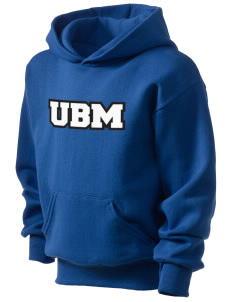 University Baptist Montessori Lamps Kid's Hooded Sweatshirt