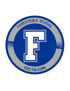 Forestdale School Falcons Sticker