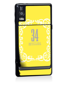 West Lake Junior High School Mustangs Motorola Droid 2 Skin