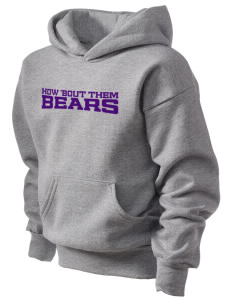 Walter E Jacobson Elementary School Bears Kid's Hooded Sweatshirt