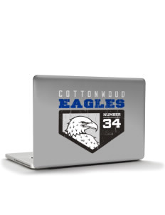 "Cottonwood Elementary School Eagles Apple MacBook Air 13"" Skin"