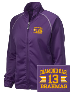 Diamond Bar High School Brahmas Embroidered Holloway Women's Attitude Warmup Jacket