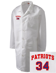 Vandenberg Elementary School Patriots Full-Length Lab Coat