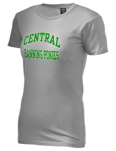Central Elementary School Banning Ponies Alternative Women's Basic Crew T-Shirt