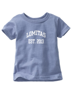 Lomitas Elementary School Leopards  Toddler Jersey T-Shirt