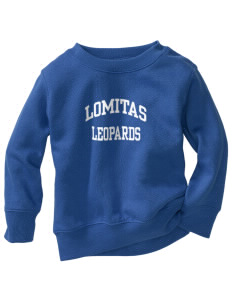 Lomitas Elementary School Leopards Toddler Crewneck Sweatshirt