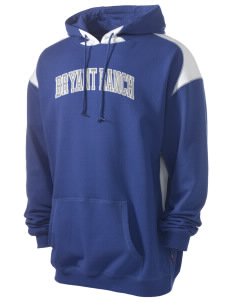 Bryant Ranch Elementary School Explorers Men's Pullover Hooded Sweatshirt with Contrast Color