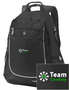 Team Cowboy Team Cowboy Embroidered OGIO Carbon Backpack