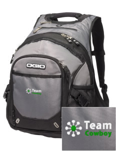 Team Cowboy Team Cowboy Embroidered OGIO Fugitive Backpack