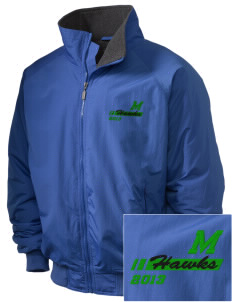 Meadowview Elementary School Hawks Embroidered Holloway Men's Tall Jacket