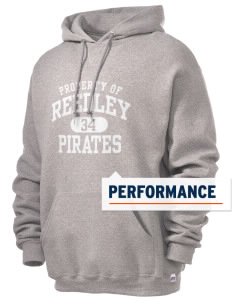 Reedley High School Pirates Russell Men's Dri-Power Hooded Sweatshirt