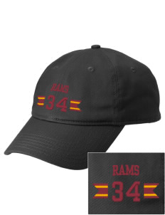 Maple Valley-Anthon Oto High School Rams  Embroidered New Era Adjustable Unstructured Cap