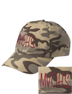 Maple Valley-Anthon Oto High School Rams Embroidered Camouflage Cotton Cap
