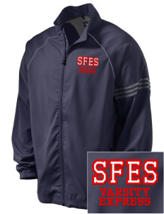 Santa Fe Elementary School South Indians Embroidered adidas Men's ClimaProof Jacket