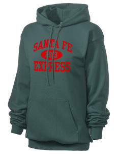 Santa Fe Elementary School South Indians Unisex 7.8 oz Lightweight Hooded Sweatshirt