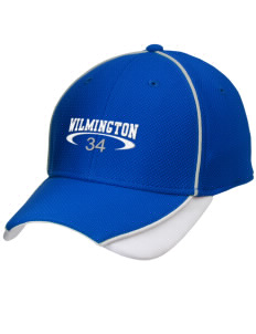 Wilmington High School Wildcats Embroidered New Era Contrast Piped Performance Cap