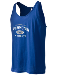 Wilmington High School Wildcats Men's Jersey Tank