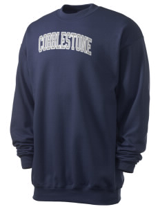 Cobblestone Elementary School Cougars Men's 7.8 oz Lightweight Crewneck Sweatshirt