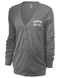 Oklahoma Union School Cougars Unisex 5.6 oz Triblend Cardigan