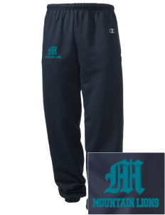 Meadow View School Mountain Lions Embroidered Champion Men's Sweatpants