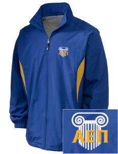 Alpha Epsilon Pi Embroidered Holloway Men's Full-Zip Jacket