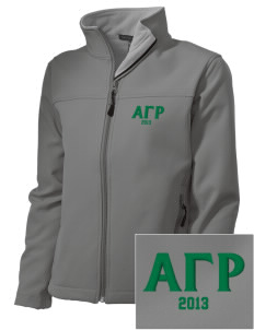 Alpha Gamma Rho Embroidered Women's Soft Shell Jacket