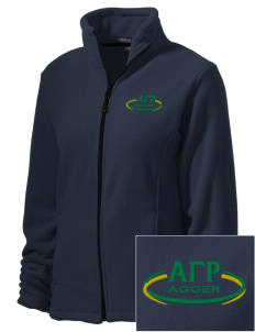 Alpha Gamma Rho Embroidered Women's Wintercept Fleece Full-Zip Jacket