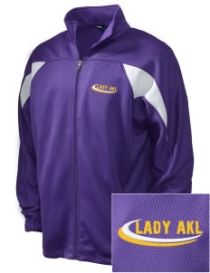 Alpha Kappa Lambda Embroidered Holloway Men's Full-Zip Track Jacket