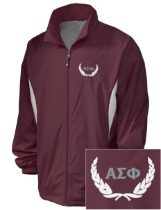 Alpha Sigma Phi Embroidered Holloway Men's Full-Zip Jacket