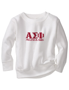 Alpha Sigma Phi Toddler Crewneck Sweatshirt