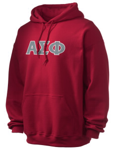 Alpha Sigma Phi Ultra Blend 50/50 Hooded Sweatshirt
