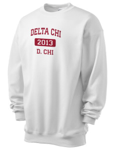 Delta Chi Men's 7.8 oz Lightweight Crewneck Sweatshirt