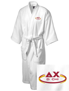 Delta Chi Embroidered Terry Velour Robe