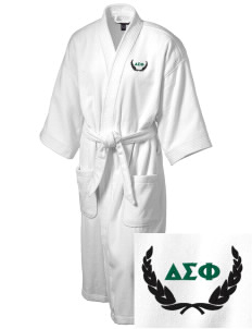 Delta Sigma Phi Embroidered Terry Velour Robe