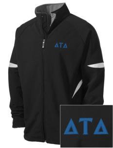Delta Tau Delta Holloway Embroidered Men's Radius Zip Front Jacket