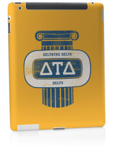Delta Tau Delta Apple iPad 2 Skin