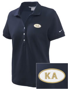 Kappa Alpha Order Embroidered Nike Women's Pique Golf Polo