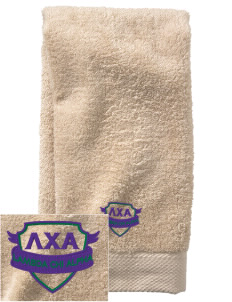 Lambda Chi Alpha  Embroidered Zero Twist Resort Hand Towel